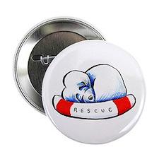 """Maltese Rescue 2.25"""" Button"""