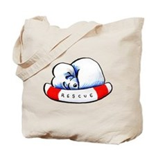 Maltese Rescue Tote Bag
