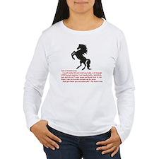 I am a horsewoman ...  T-Shirt
