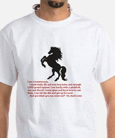 I am a horsewoman ... I can  ...  Shirt