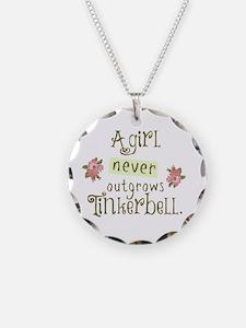 A Girl Never Outgrows Necklace