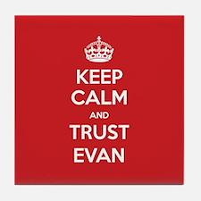 Trust Evan Tile Coaster
