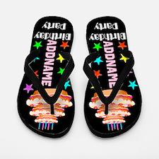 Any Age Birthday Flip Flops