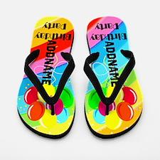 Fun Birthday Flip Flops
