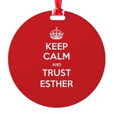 Trust Esther Ornament