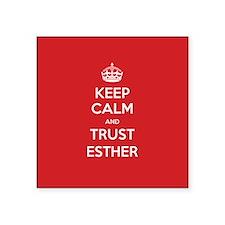 Trust Esther Sticker