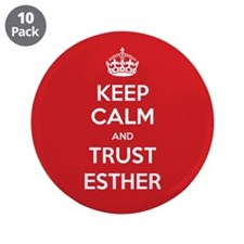 "Trust Esther 3.5"" Button (10 pack)"