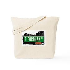 E Fordham Rd, Bronx, NYC Tote Bag