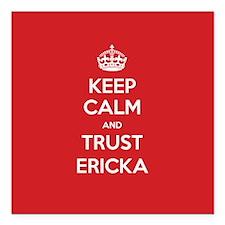 """Trust Ericka Square Car Magnet 3"""" x 3"""""""