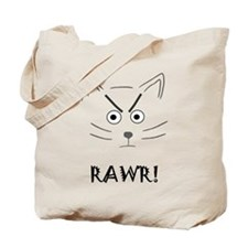 RAWR! Cat Tote Bag