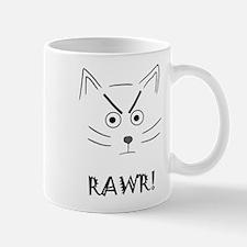 RAWR! Cat Mugs