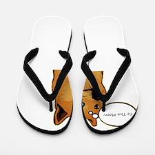 tothemoondoggie Flip Flops