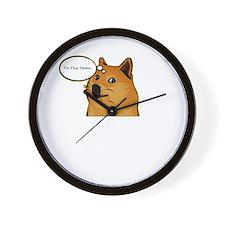 tothemoondoggie Wall Clock