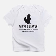 Wicked Beaver Brewing Co. Logo Infant T-Shirt