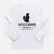 Wicked Beaver Brewing Co. Logo Long Sleeve T-Shirt