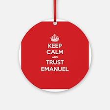 Trust Emanuel Ornament (Round)