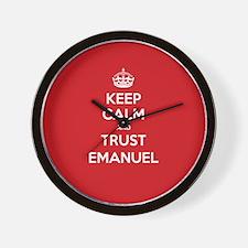 Trust Emanuel Wall Clock