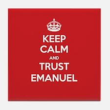 Trust Emanuel Tile Coaster