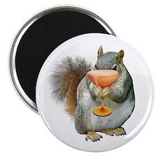 Squirrel Drink Magnet