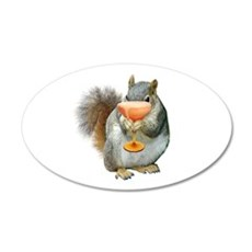 Squirrel Drink Wall Decal