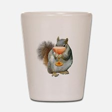 Squirrel Drink Shot Glass