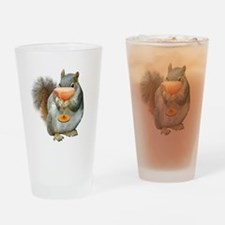 Squirrel Drink Drinking Glass