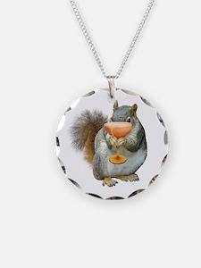 Squirrel Drink Necklace