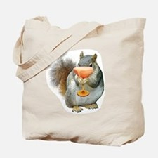 Squirrel Drink Tote Bag
