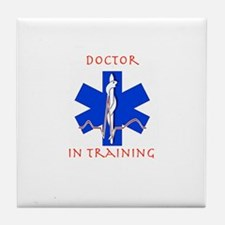 Doctor in training Tile Coaster
