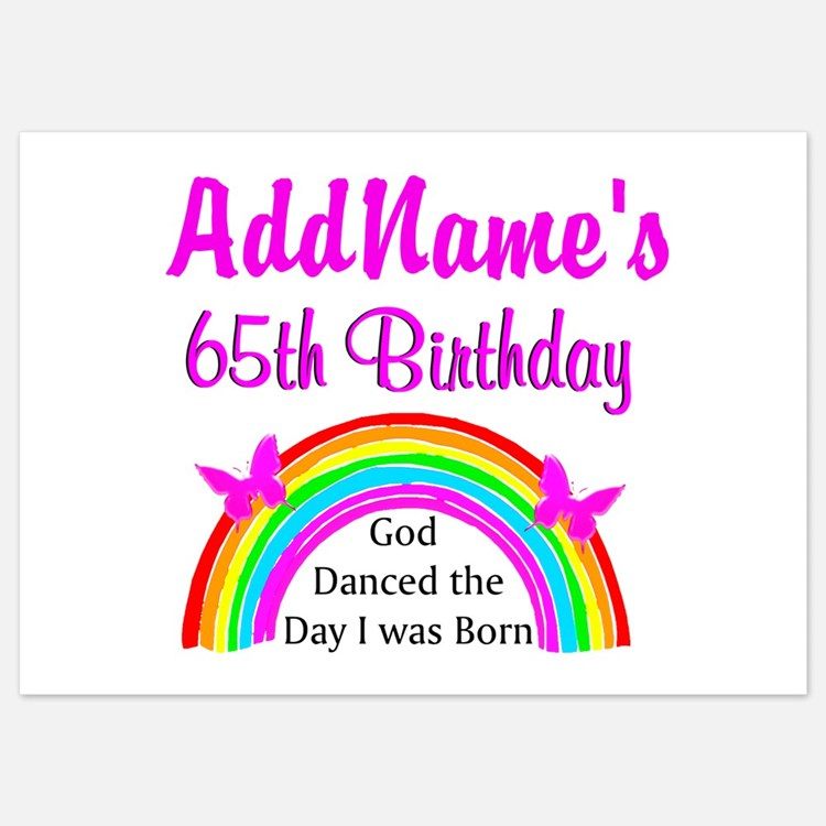 65Th Birthday Invitations for 65th Birthday – 65th Birthday Invitations