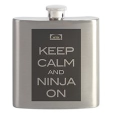 Keep Calm! And Ninja On Flask