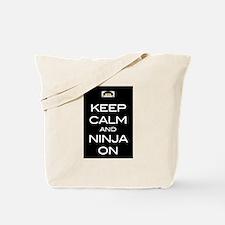 Keep Calm! And Ninja On Tote Bag