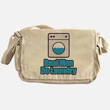 Real Men Do Laundry Messenger Bag