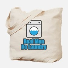 Real Men Do Laundry Tote Bag