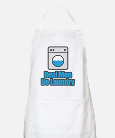Real Men Do Laundry Apron