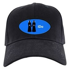 """I Do"" Brides Blue Baseball Hat"