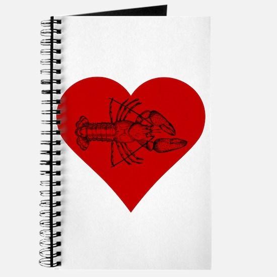 I Love Crawfish Journal