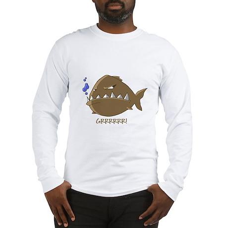 Evil Piranha Long Sleeve T-Shirt