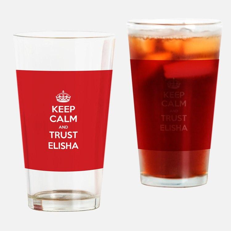 Trust Elisha Drinking Glass