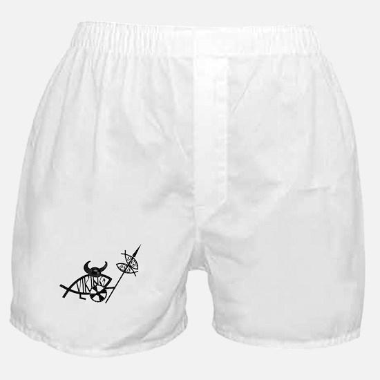 Viking Fish Boxer Shorts