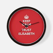Trust Elisabeth Wall Clock