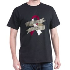Throat Cancer Standing Strong T-Shirt