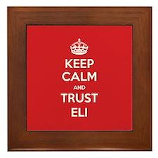 Trust Eli Framed Tile