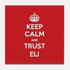 Trust Eli Tile Coaster