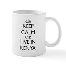 Keep Calm and Live In Kenya Mugs
