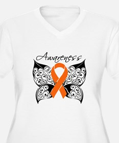 Butterfly Multiple Sclerosis Plus Size T-Shirt