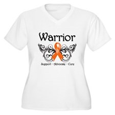 Warrior Multiple Sclerosis Plus Size T-Shirt