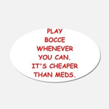 bocce Wall Decal
