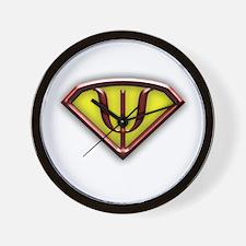 superman copy.png Wall Clock