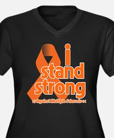 I Stand Strong Against MS Plus Size T-Shirt